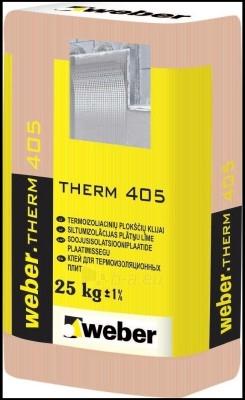 Mišinys klijavimo Weber therm 405 (25 kg) Paveikslėlis 1 iš 1 236780800001
