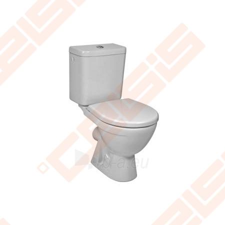 Toilet JIKA Lyra plus   with horizontal trap Paveikslėlis 1 iš 4 270713000214