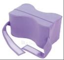 Kojas skirianti pagalvėlė su fiksuojančiais diržais Paveikslėlis 1 iš 1 250630900012