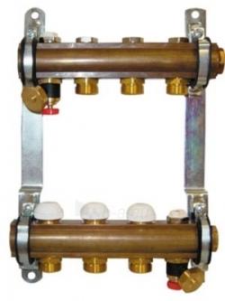 Kolektorius HERZ 4 žiedų, reguliuojamas Paveikslėlis 1 iš 1 270331000055