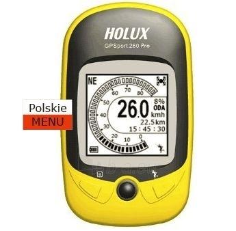 Kompasas su žingsniamačiu Holux GR-260 PRO GPS Paveikslėlis 1 iš 1 251530300004