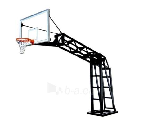 Kraninė stacionari krepšinio konstrukcija (165 cm) Paveikslėlis 1 iš 1 250520700019