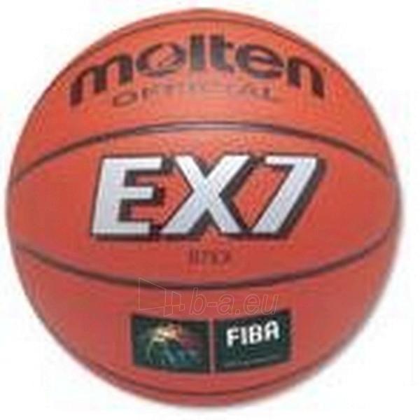 Krepšinio kamuolys MOLTEN B7EX Paveikslėlis 1 iš 1 250520101008