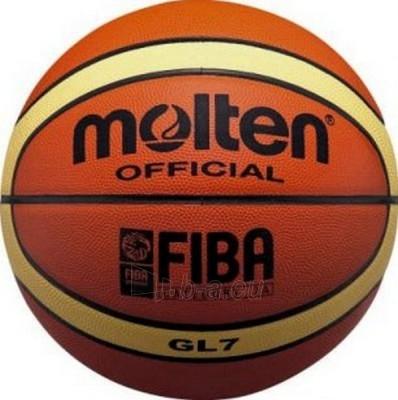 Krepšinio kamuolys MOLTEN BGL7-X Paveikslėlis 1 iš 3 250520101025