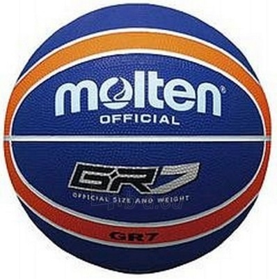 Krepšinio kamuolys MOLTEN BGR7-NOR Paveikslėlis 1 iš 1 250520101021