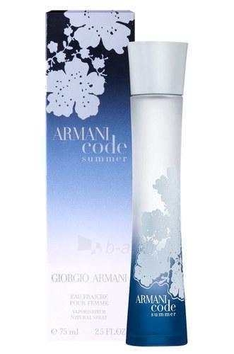 Kvapusis vanduo Giorgio Armani Code Summer 2010 Eau de Fraiche 75ml Paveikslėlis 1 iš 1 250811001647