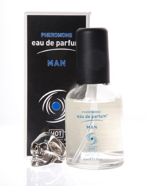 Kvepalai Hot Man pheromon parfum 50 ml Paveikslėlis 1 iš 1 2514110000008