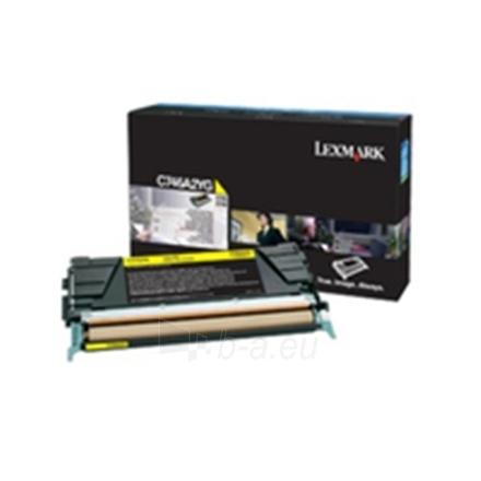 LEXMARK C746, C748 YELLOW TONER CART. Paveikslėlis 1 iš 1 250256001643