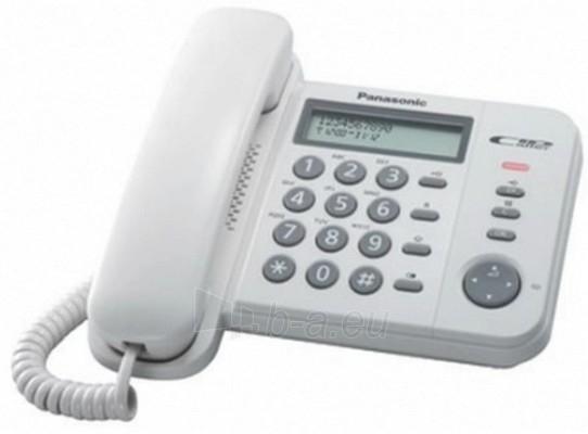 Laidinis telefonas PANASONIC KX-TS560FXW Paveikslėlis 1 iš 1 250234000010
