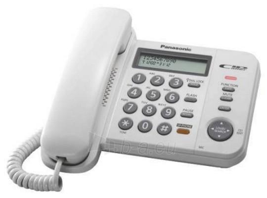 Laidinis telefonas PANASONIC KX-TS580FXW Paveikslėlis 1 iš 1 250234000011