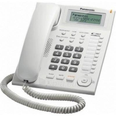 Laidinis telefonas PANASONIC KX-TS880FXW Paveikslėlis 1 iš 1 250234000012