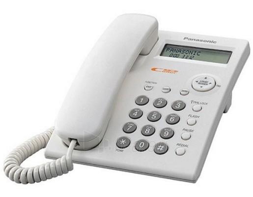 Laidinis telefonas PANASONIC KX-TSC11FXW Paveikslėlis 1 iš 1 250234000015