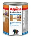 Lakas Alpina Parkettlack (blizgus) 0,75 ltr. Paveikslėlis 1 iš 1 236590000123