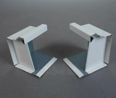 Latako galinis dangtelis stačiakampis 80x100 mm (poliesteris) Paveikslėlis 1 iš 1 237520600175