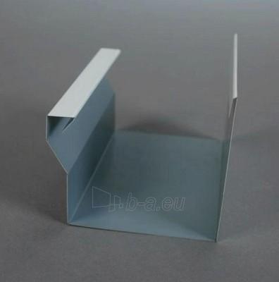 Latako jungtis stačiakampė su sijonu 60x80 mm (cinkuota) Paveikslėlis 1 iš 2 237520200140
