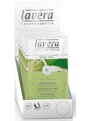 Lavera Bath Salt Vervain-Lime Cosmetic 80g Paveikslėlis 1 iš 1 250897000007