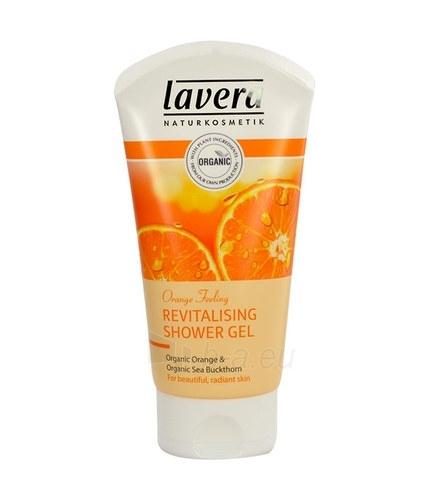 Lavera Shower Gel Orange and Sea buckthorn Cosmetic 150ml Paveikslėlis 1 iš 1 2508950000006