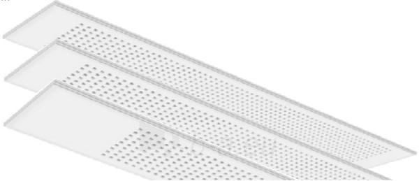 Lubos Gyptone Plank Quattro55, E15 300x2100x12,5 Paveikslėlis 2 iš 3 237741000213