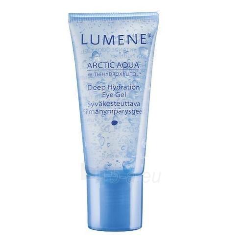 Lumene Arctic Aqua Deep Hydration Eye Gel Cosmetic 15ml Paveikslėlis 1 iš 1 250840800167