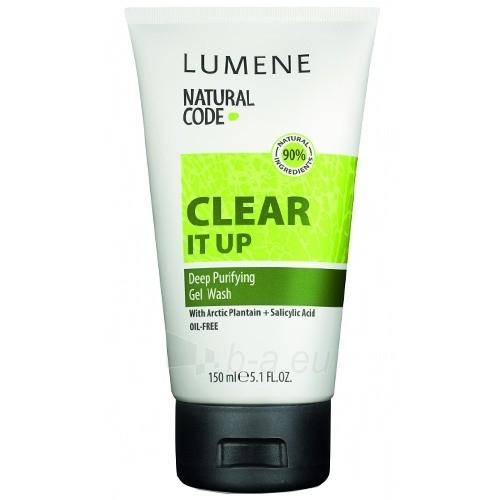 Lumene Clear It Up Gel Wash Cosmetic 150ml Paveikslėlis 1 iš 1 250840700286