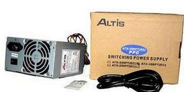 Maitinimo šaltiniai COMPUCASE PSU 400W 8CM Paveikslėlis 1 iš 1 250255010007