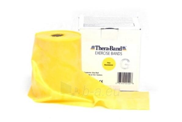 Mankštos juosta THERA-BAND geltona (1 m) Paveikslėlis 1 iš 3 250620600001