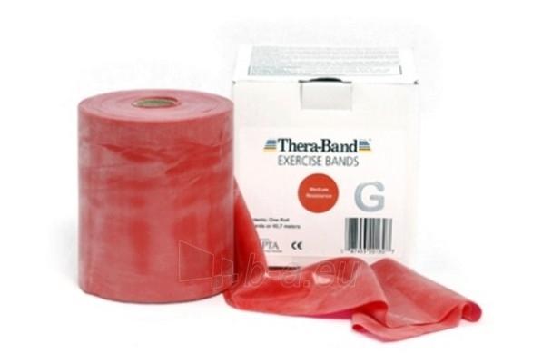 Mankštos juosta THERA-BAND raudona (1 m) Paveikslėlis 1 iš 3 250620600003