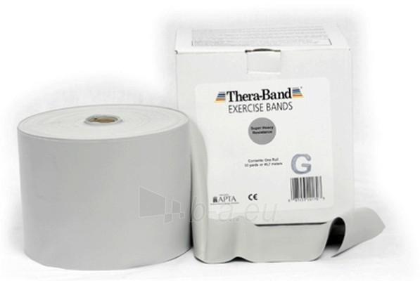 Mankštos juosta THERA-BAND sidabro (1 m) Paveikslėlis 1 iš 3 250620600011