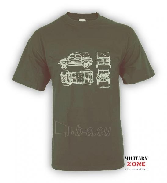 Marškinėliai Kdf Kubelwagen Paveikslėlis 1 iš 1 251510500030