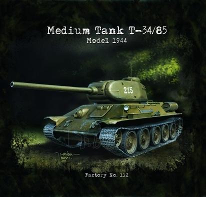 Marškinėliai Medium TANK T-34/85 Model 1944 Paveikslėlis 1 iš 1 251510500003