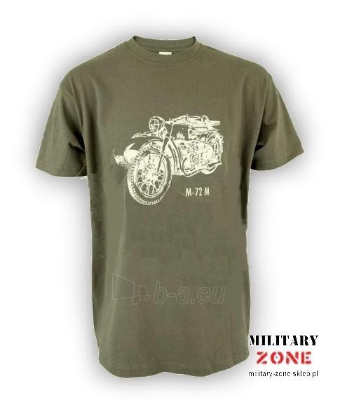 Marškinėliai Motocykl M-72 Paveikslėlis 1 iš 1 251510500028