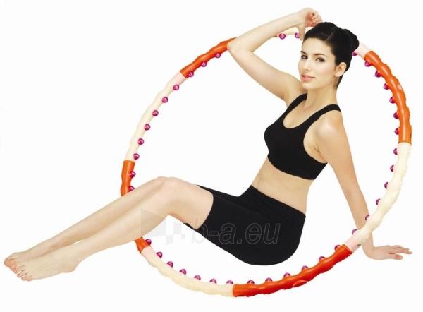 Masažinis lankas Magnetic III Health Hoop 1,2kg Paveikslėlis 1 iš 1 250630300070