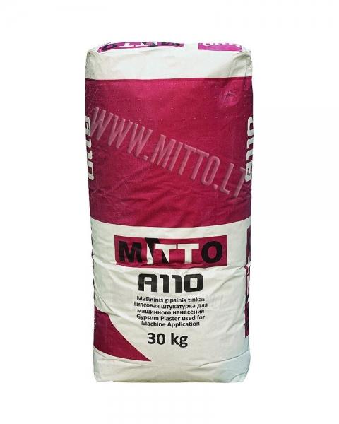 Gypsum plaster MITTO A110 30kg Paveikslėlis 1 iš 1 236760200032