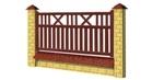 Wood Fence Panels A - type 1900x1000 mm Paveikslėlis 1 iš 1 239320600000