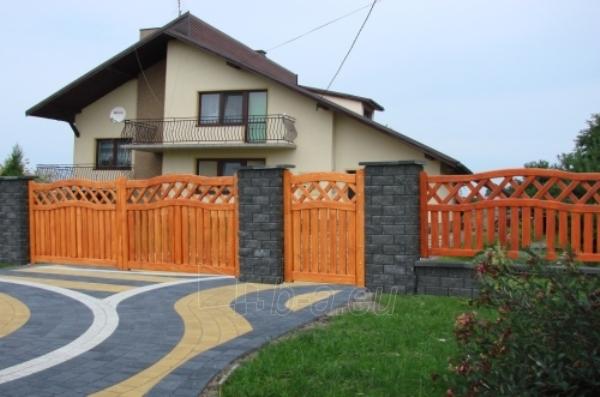 Medinė tvoros sekcija B - tipo 1900x1000 mm Paveikslėlis 1 iš 1 239320600001