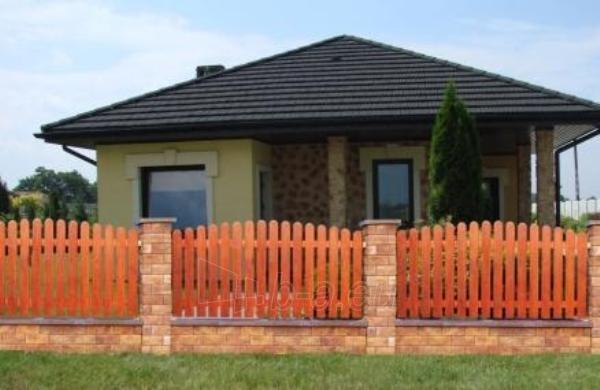 Wood Fence Panels O - type 1950x1000 mm Paveikslėlis 1 iš 1 239320600008