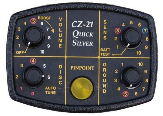 Metalo detektorius Fisher CZ-21 10'' Paveikslėlis 2 iš 2 250530800021