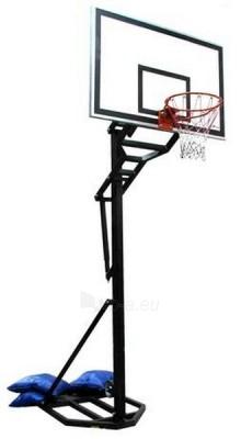 Mobilus krepšinio stovas Hydra (skaidri akrilinė lenta) Paveikslėlis 1 iš 1 250520700010