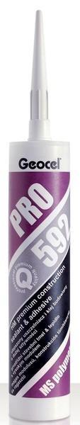 Mounting glue Geocel Pro 592 290 ml. black Paveikslėlis 1 iš 1 236780400060