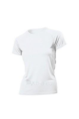 Moteriški marškinėliai Hanes Tagless Crew Neck SPORTS (balti) Paveikslėlis 1 iš 1 250940000079