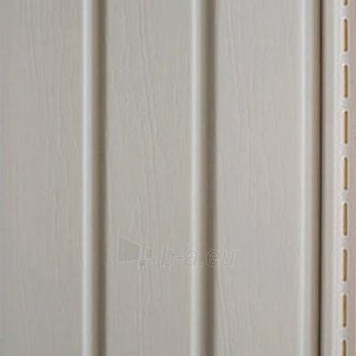 Nutekėjimo profilis fasado apdailai, pilkas Paveikslėlis 2 iš 2 237714000195