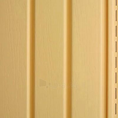 Nutekėjimo profilis fasado apdailai, tamsiai geltonas Paveikslėlis 2 iš 2 237714000191