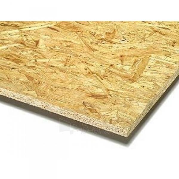 OSB3 board 2500x1250x12 (3,125 sq.m.) Paveikslėlis 1 iš 1 237320000031