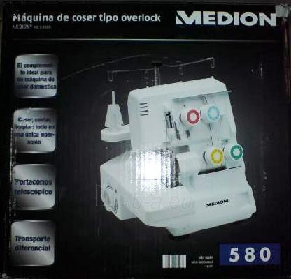 Overlokas Medion 580 Paveikslėlis 1 iš 1 250110100151