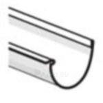 PLASTMO Latakas (Nr.11) 120 mm (pilkas) Paveikslėlis 1 iš 1 237520100069
