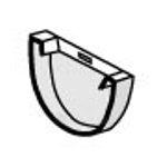 PLASTMO Latako dangtelis galinis (Nr.10) 100 mm (baltas) Paveikslėlis 1 iš 1 237520600076