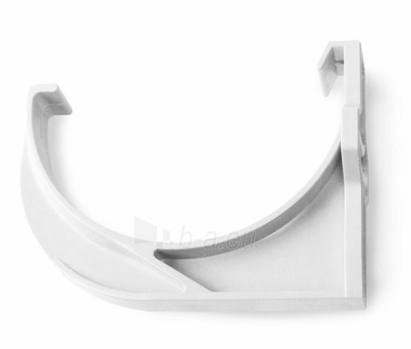 PLASTMO Latako laikiklis plastmasinis (Nr.11) 120 mm (baltas) Paveikslėlis 1 iš 2 237520300020