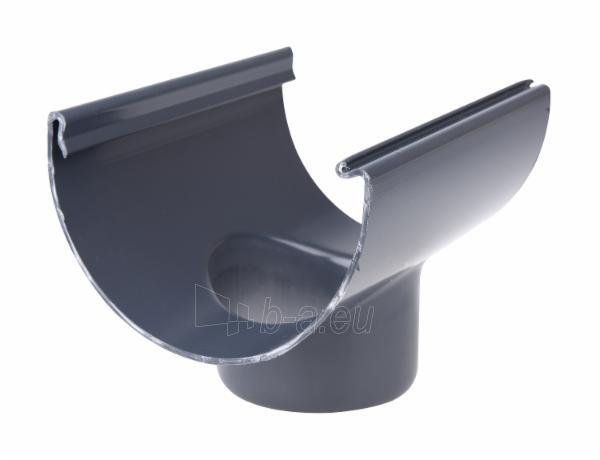 PLASTMO Latako nuolaja klijuojama (Nr.10) 100 mm (grafitinė) Paveikslėlis 1 iš 2 237520400003