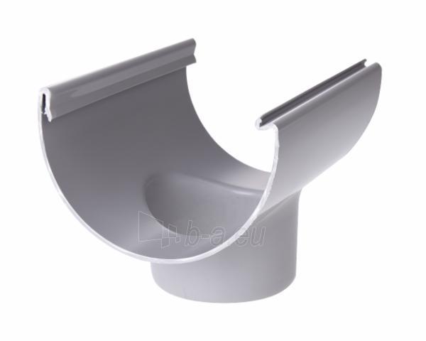 PLASTMO Latako nuolaja klijuojama (Nr.10) 100 mm (pilka) Paveikslėlis 1 iš 2 237520400002