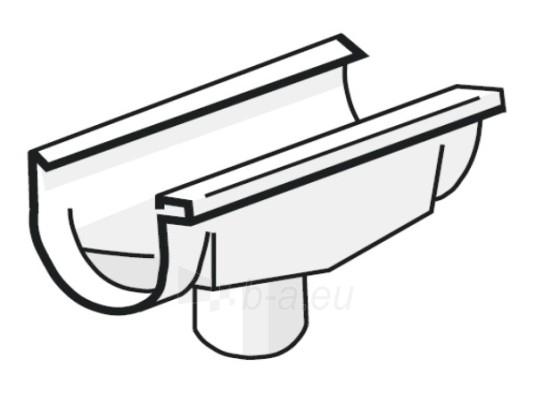 PLASTMO Latako nuolaja kompensacinė (Nr.10/75mm) 100 mm (balta) Paveikslėlis 1 iš 1 237520400016